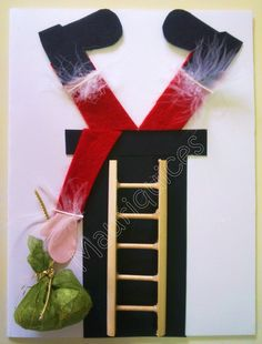 Christmas Bells, Ladder Decor, Advent Calendar, Santa, Holiday Decor, Attention Autism, Cards, Patch, Christmas Card Making