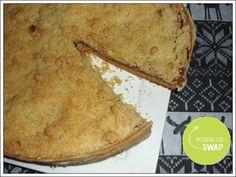 Niet zo gezond, maar wel heel lekker. de appel kruimel van de foodblogswap!