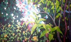 """Breathing Space"" acrylic by Mellissa Read-Devine"