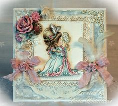 Dena's Stamping Corner: A New Lili of the Valley Sneak Peek! 3d Cards, Cute Cards, Whimsy Stamps, Digi Stamps, Handmade Card Making, Paper Smooches, Spring Sign, Beautiful Handmade Cards, Hand Coloring