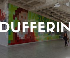 DUFFERIN STATION IN TORONTO — We've put together a collection of the most striking and charming TTC subway stations in Toronto, so next time you find yourself standing in any of them, look around and you'll be amazed to find that you're actually standing in beautiful, unconventional art galleries!