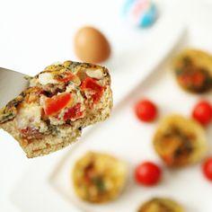 Herzhafte Gemüse-Ei-Muffins – Vegetable-Egg-Cupcakes