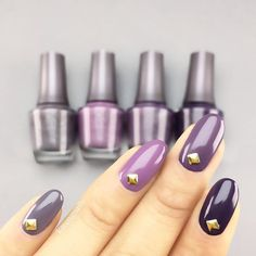 Color Story  #nails featuring my favorite shades for this #Fall  #karengnails