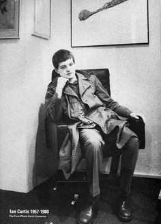 Ian Curtis of Joy Division Joy Division, Natalie Curtis, Kevin Curtis, Salford, Music Stuff, My Music, Goth Music, Punk Rock, Deneuve