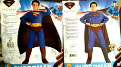 superman returns boys costume muscle and non muscle new RUBIES #Rubies #CompleteOutfit
