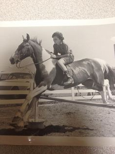 Photo Of Dixie Reger Mosley Trick Riding In The Late 1940