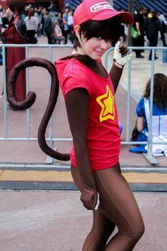 Donkey Kong-Nintendo. View more EPIC cosplay at http://pinterest.com/SuburbanFandom/cosplay/...