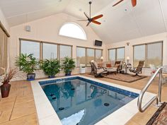 Indoor Pool Addition http://www.DFWImproved.com #PoolAddition