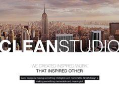 CleanStudio Corporate Website