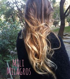 Ombre hair - freestyle .