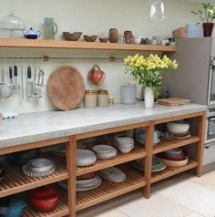 Supreme Kitchen Remodeling Choosing Your New Kitchen Countertops Ideas. Mind Blowing Kitchen Remodeling Choosing Your New Kitchen Countertops Ideas. Kitchen Storage Units, Kitchen Pantry, Kitchen Shelves, Open Kitchen Cabinets, Base Cabinets, Open Pantry, Kitchen Soffit, Kitchen Worktops, Kitchen Walls