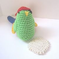 CROCHET N PLAY DESIGNS: Free Crochet Pattern: Polly Wants a Cracker