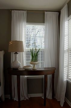 Window Blinds - CLICK THE PICTURE for Many Window Treatment Ideas. #curtains #windowcoverings