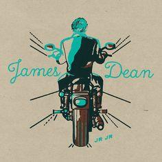 "Dale Earnhardt Jr Jr - ""James Dean"""