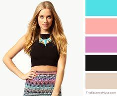 Edgy. Crisp. Bare. Colour Schemes, Color Trends, Color Palettes, Color Combinations, Signature Look, Color Theory, Fashion Branding, Personal Branding, Colorful Fashion