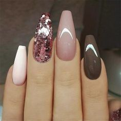 Ballerina Nail Art Tips Transparent/Natural False Coffin Nails Art Tips Flat Shape Full Cover Manicure Fake Nail Tips The post Ballerina Nail Art Tips Transparent/Natural False Coffin Nails Art Ti appeared first on Nageldesign. Trendy Nails, Cute Nails, Acrylic Nail Designs, Nail Art Designs, Nails Design, Pretty Nail Designs, Nagellack Trends, Coffin Nails Long, Nagel Gel