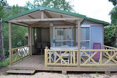 Chalet NEMO, 2 chambres, Dimanche/Dimanche Nemo, Gazebo, Camping, Outdoor Structures, Outdoor Decor, Home Decor, Sunday, Bedrooms, Campsite
