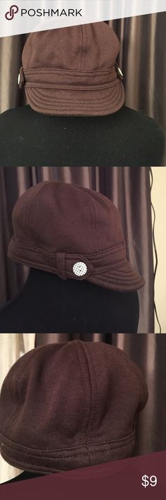Brown Jeff cap by Divided  S/54. Brown Jeff cap by Divided  S/54.  Perfect condition   Never worn. Tags removed Divided Accessories Hats