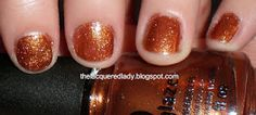 thelacqueredlady.blogspot.com - China Glaze Harvest Moon, Colors from the Capitol (Hunger Games) Collection