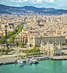 Take in the beauty of Barcelona.