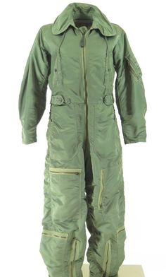 Vintage 50s CWU-1/P US Air Force Flight Suit S The Clothing Vault