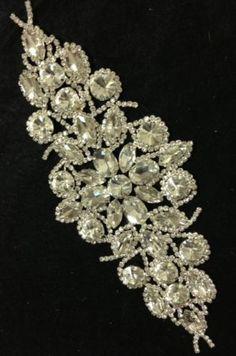 Rhinestone-Brooch-Applique-Costume-Dress-Sewing-Wedding-Sash-Cake-Decoration-34