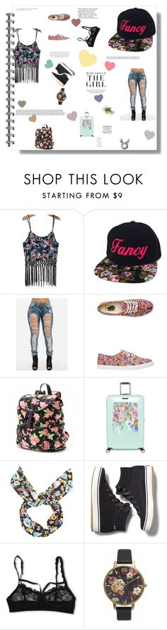 """""""Floral Prints"""" by prfctolifestyleclothing on Polyvore featuring Vans, Candie's, Ted Baker, Topshop, Keds, Hanky Panky, Olivia Burton, Kershaw, Tiffany & Co. and floral"""