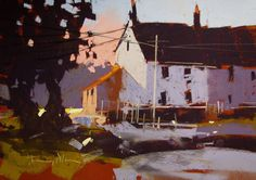 Tony Allain 'MORNING LIGHT, ALVESTONE, pastel 9x12 Pastel Landscape, Urban Landscape, Landscape Art, Landscape Paintings, Watercolor Paintings, Pastel Drawing, Pastel Art, The Artist Magazine, Art Folder