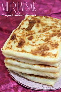 Murtabak crepe salée, recette indienne