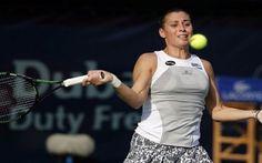WTA DUBAI: Flavia Pennetta sconfitta in due set da una bellissima e ritrovata Caroline Wozniacki #wozniacki #pennetta #dubai #wta
