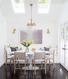 Tour Allison Statter's Beverly Hills Home - dining room