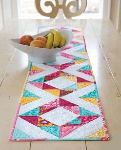 Spring Table Runner - Quilting Digest