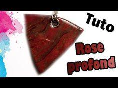TUTO FIMO: ROSE PROFOND | PolymerClay Tutorial Deep Rose - YouTube
