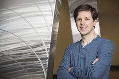 Such a cool article! David Gleich, Assistant Professor of Computer Science, really does make math sound fun. (photo via Purdue University/Rebecca Wilcox)