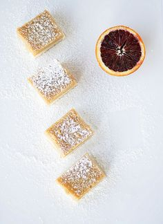 Blood Orange Bars | French Press for Melanie Makes