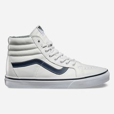 ebade09983 Vans Leather SK8-Hi Reissue Shoes ( 75) ❤ liked on Polyvore featuring men s
