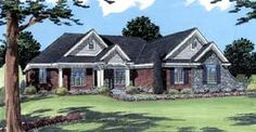 Traditional   House Plan 98618