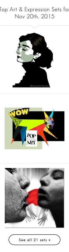 """Top Art & Expression Sets for Nov 20th, 2015"" by polyvore ❤ liked on Polyvore featuring art, audreyhepburn, artset, XTXCMTNSXRTSTS, dog, popart, polyvoreeditorial, dolls, lastchance and Original"
