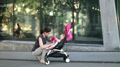 BABYZEN YOYO Stroller - The most compact, STURDY, versatile lightweight / umbrella stroller EVER. Fits in overhead compartment which traveling. Have a large sunshade and reclines! Yoyo Babyzen, Baby Lux, Mountain Buggy, Baby Wish List, Umbrella Stroller, Baby Must Haves, New Parents, Cool Baby Stuff, Best Mom