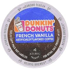 Dunkin Donuts K-cups French Vanilla - 72 Count >>> Awesome product. Click the image : K Cups