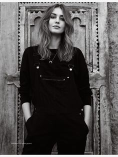 Nadja Bender by Jean Baptiste Mondino, Elle France March 2015
