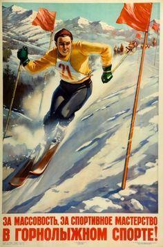 Rare Ski Posters Discovered In A Scottish Attic