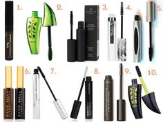 10 BEST ORGANIC MASCARA OPTIONS ON THE MARKET! When we say all things mascara, we bring you a list of #organic #mascara options too! And those that make our 10 BEST ORGANIC ones based on the mascara ingredients and are considered paraben free cosmetics! Find out why Physicians Formula Organic Wear Mascara makes the list and what other organic mascara brands make the list too!