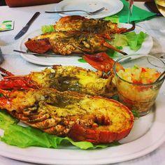 Lobster, langosta.... En el idioma que sea, esta está para morirse. #true #dinnerwithmyboyfriend #dinner #delicious #sea #foodporn #food #vigo #ríasbaixas #love
