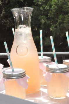 Pink Lemonade party (birthday idea)