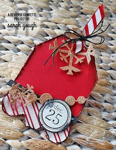In My Creative Opinion: 25 Days of Christmas Tags - Day 15