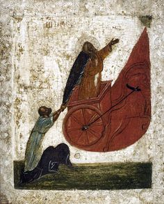 The fiery ascent of the prophet Elijah Age:XV Place of origin: Russia storage Location: Private collection Religious Images, Religious Art, Orthodox Catholic, Biblical Art, Byzantine Art, Ancient Mysteries, Orthodox Icons, Sacred Art, Bible