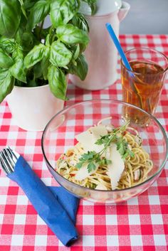 Chickenghetti - lekko ostra wersja spaghetti z kurczakiem...pychota :)