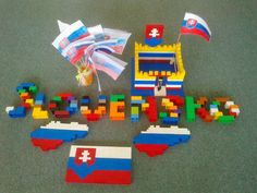 Lego Slovensko World Thinking Day, Activities For Kids, Homeschool, Lego, Education, Creative, Projects, Crafts, Bratislava