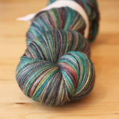 { last skein } 80/20 merino silk laceweight (875 yards!), hand dyed by phydeaux designs